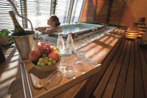 Die beliebte Wellness-Suite. Foto: AIDA Cruises