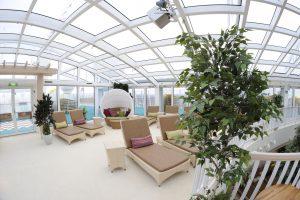 Der Wellness-Bereich auf der AIDAstella. Foto: AIDA Cruises