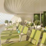 Der Organic Spa an Bord der AIDAprima. Foto: AIDA Cruises