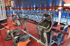 Fitness und Aussicht, bei Costa eine Selbstverständlichkeit. Foto: Costa Crociere