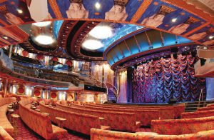 Das Theater lädt zu atemberaubenden Veranstaltungen ein. Foto: Costa Crociere