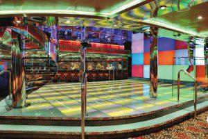 Die Discothek ist Abends einer der Treffpunkte. Foto: Costa Crociere