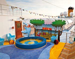Kinder haben vielfältige Spielmöglichkeiten auf dem Schiff. Foto: Costa Crociere