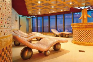 Im Tapedarium lässt sich perfekt entspannen. Foto: Costa Crociere