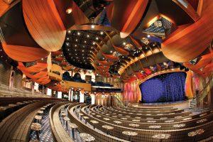 Jeden tag findet ein außergewöhnliches Programm im Theater statt. Foto: Costa Crociere