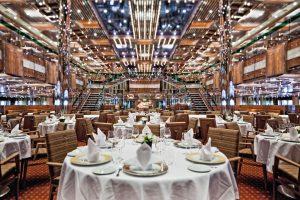 Stilecht, das Otto e mezzo Restaurant. Foto: Costa Crociere