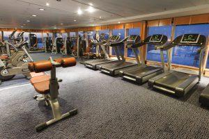 Schönste Aussicht im Fitnesscenter. Foto: Costa Crociere
