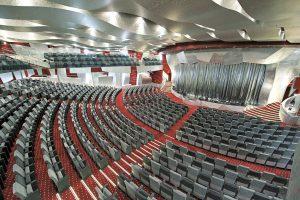 Das Theater lädt jeden Abend zu tollen Vorstellungen. Foto: MSC Crociere