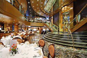 Das La Reggia Restaurant. Foto: MSC Crociere
