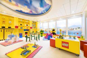 Der Kinderbereich lädt die Kinder zum spielen ein. Foto: MSC Crociere