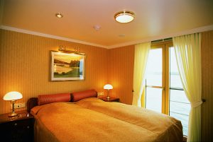 Eine Zwei-Bett Kabine auf dem Oberdeck. Foto: Nicko Cruises