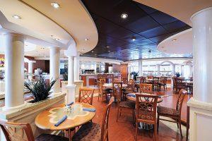 Die Gli Archie Cafeteria. Foto: MSC Crociere