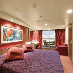 Die Kabinen mit Balkon bieten viel Platz. Foto: MSC Crociere