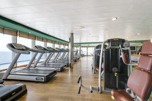 Fitness mit Aussicht. Foto: MSC Crociere